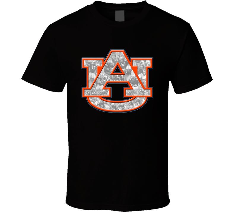 Auburn Tigers football t shirt t-shirt