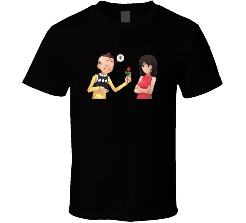 old master q Lao Fu Zi Alfonso Wong t shirt t-shirt