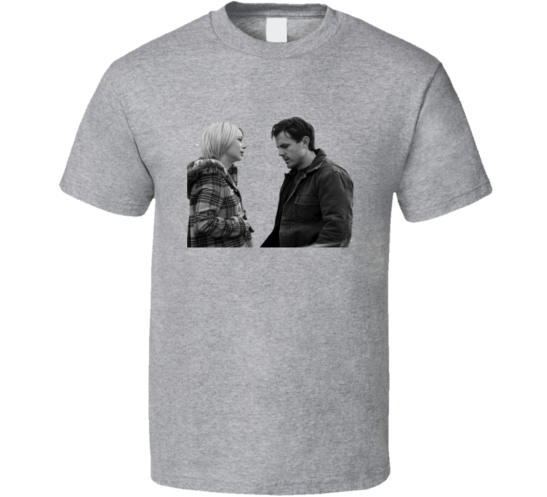 Manchester by the sea movie t-shirt Casey Affleck Lee Chandler Michelle Williams Randi