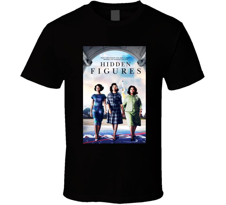 hidden figures movie 2017 t shirt