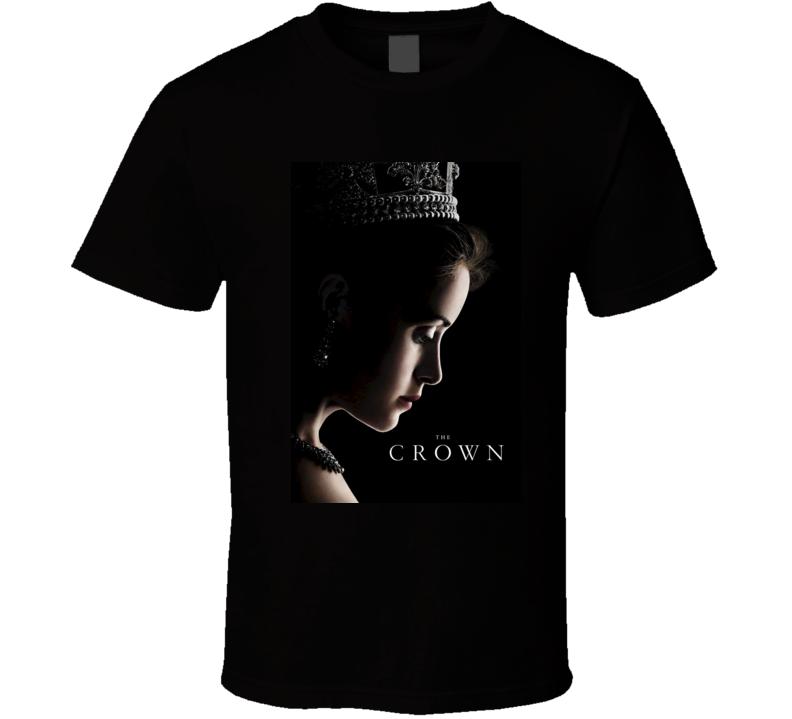 The Crown netflix tv series t shirt
