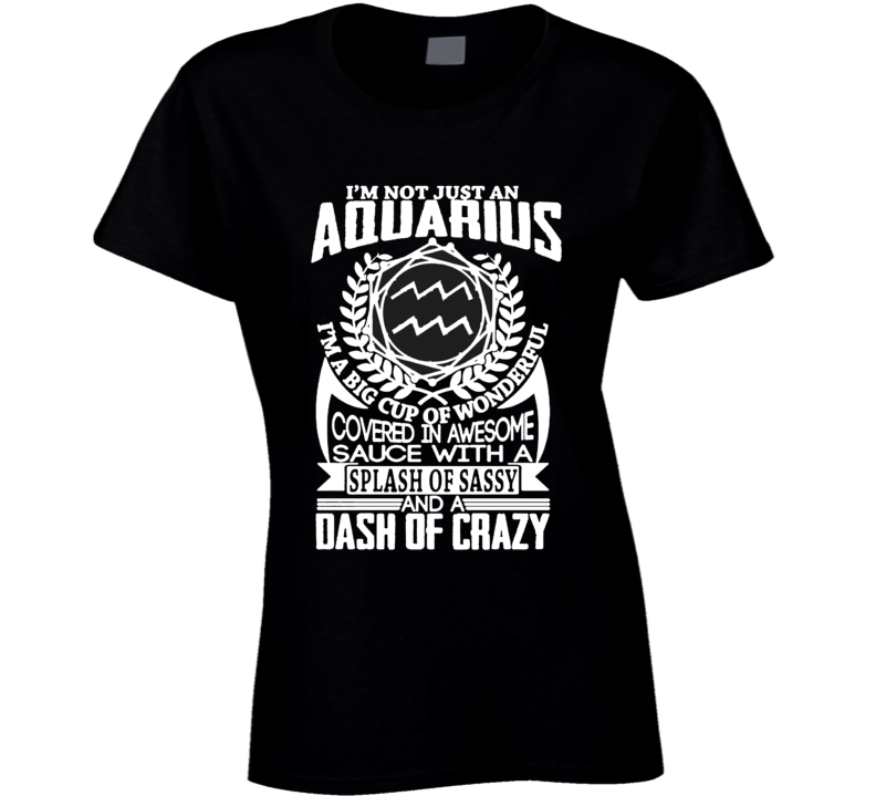 Aquarius Zodiac t shirt January February born t-shirt men ladies e