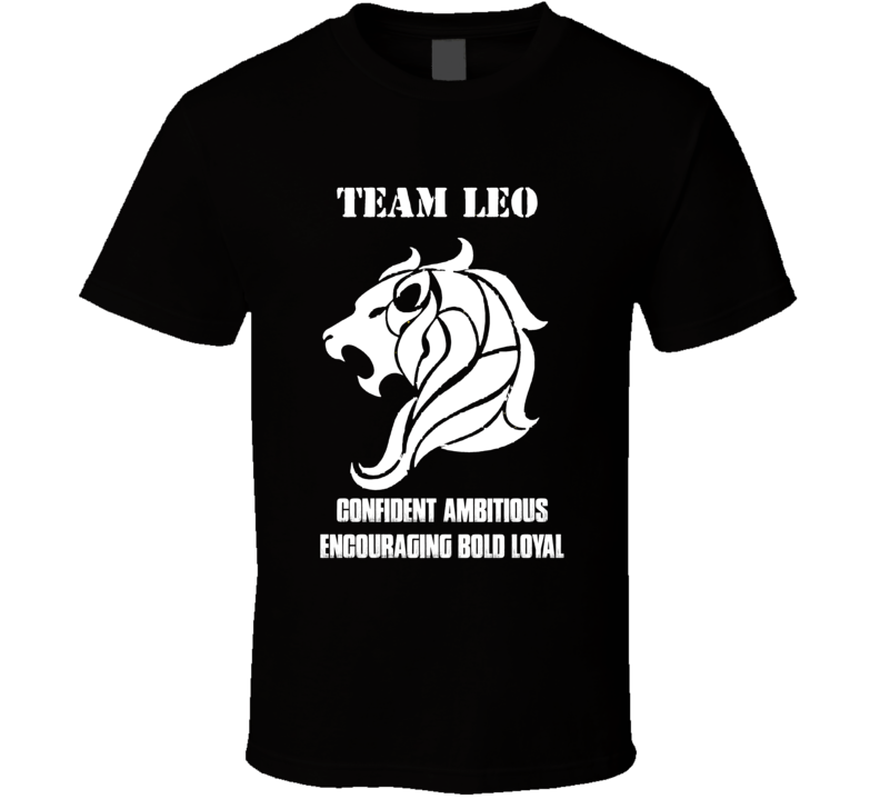 Leo Zodiac t shirt July August born t-shirt b