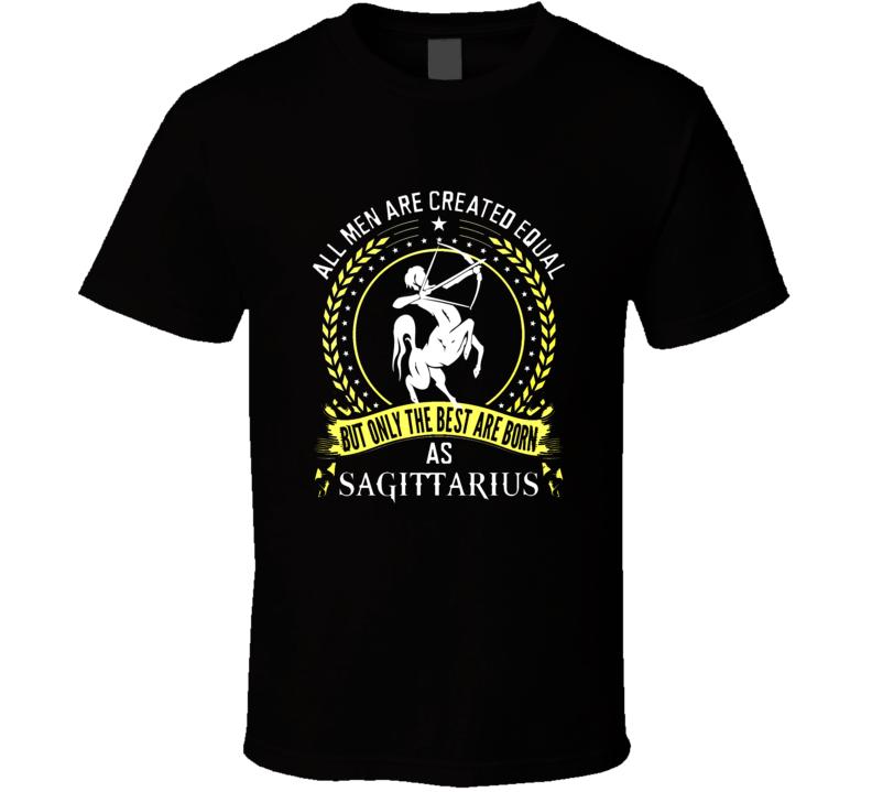 Sagittarius Zodiac November December t shirt born t-shirt women men a2