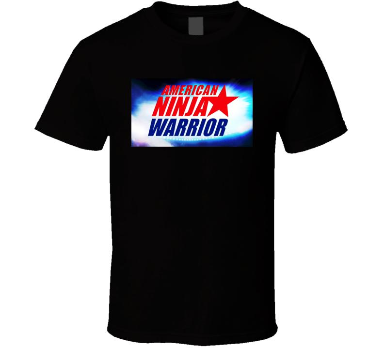 American Ninja Warrior Logo  T Shirt