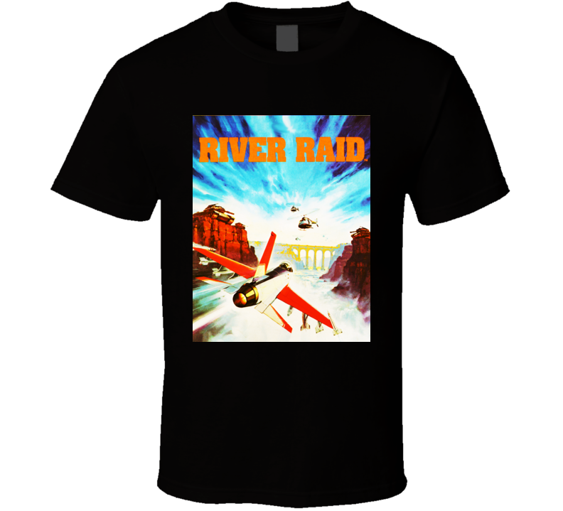 Atari River Raid Box Art 1b T Shirt