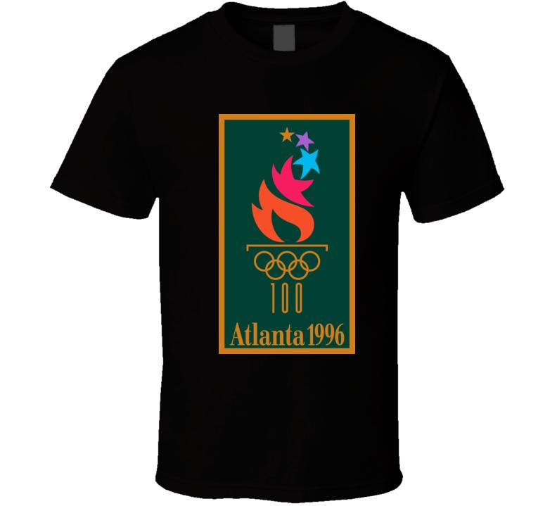 Atlanta 1996 Summer Olympics 100 Years  T Shirt