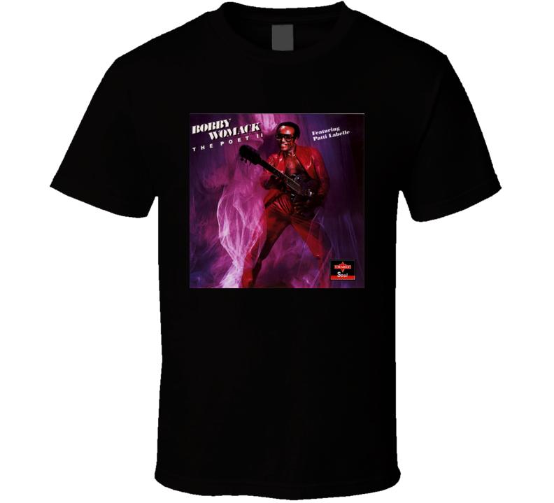 Bobby Womack Poet 2 Album Cover T shirt