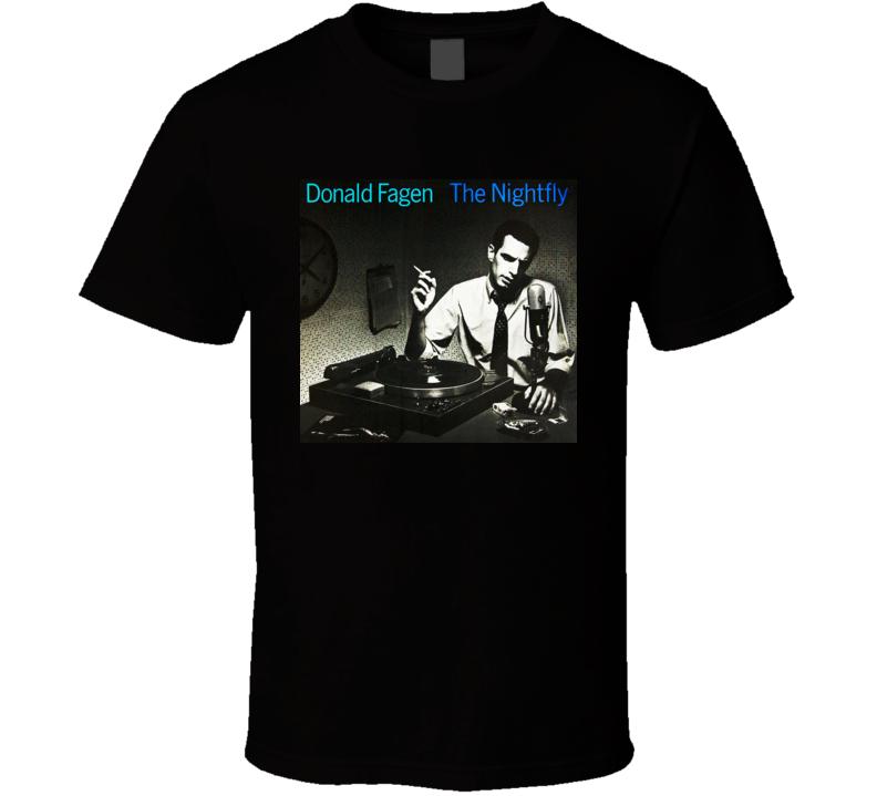 Donald Fagen The Nightfly Album Cover T shirt