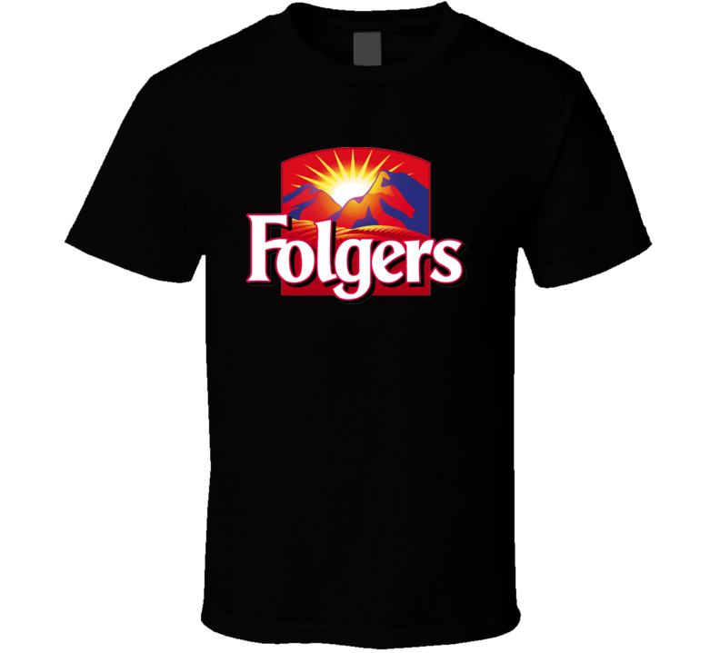 Folgers Coffee Logo T shirt