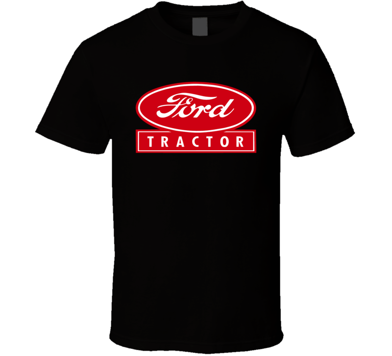 Ford Tractor Farmer Guy Father's Day Dad T shirt