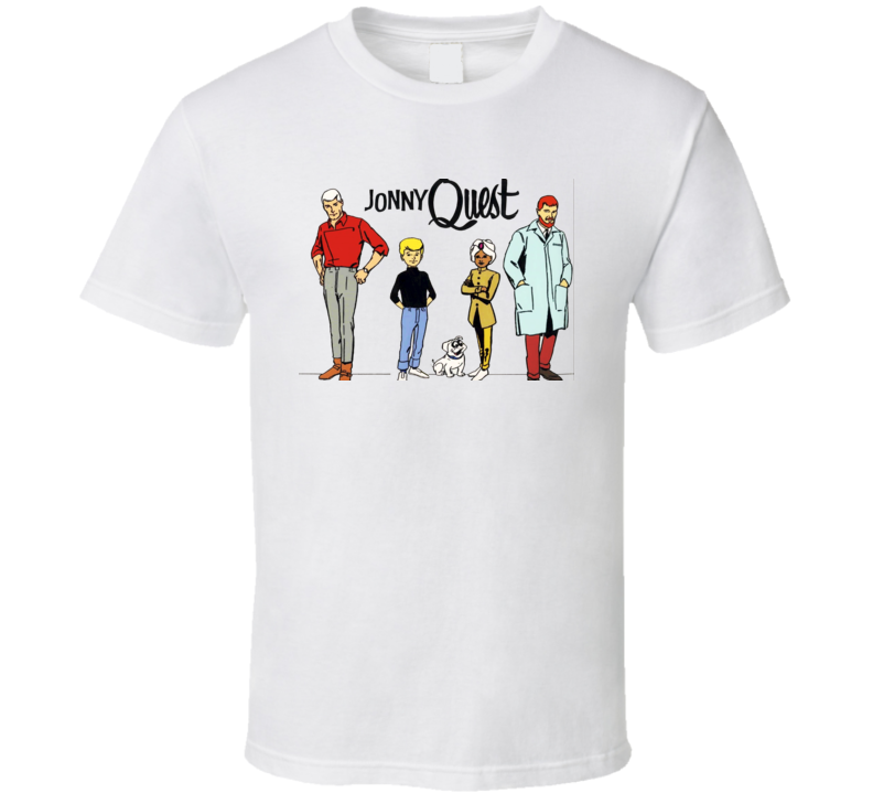 Jonny Quest Retro Cartoon T shirt
