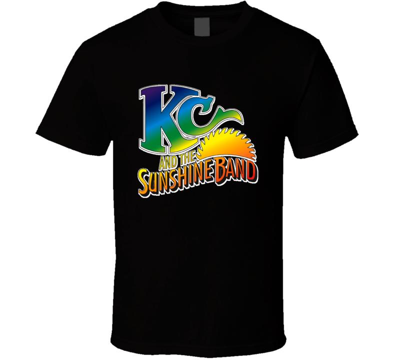 KC & Sunshine Band 70s Funk Disco Old School Music T shirt