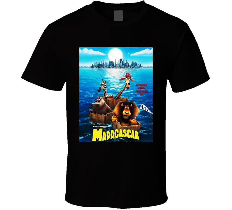 Madagascar Movie Poster T shirt