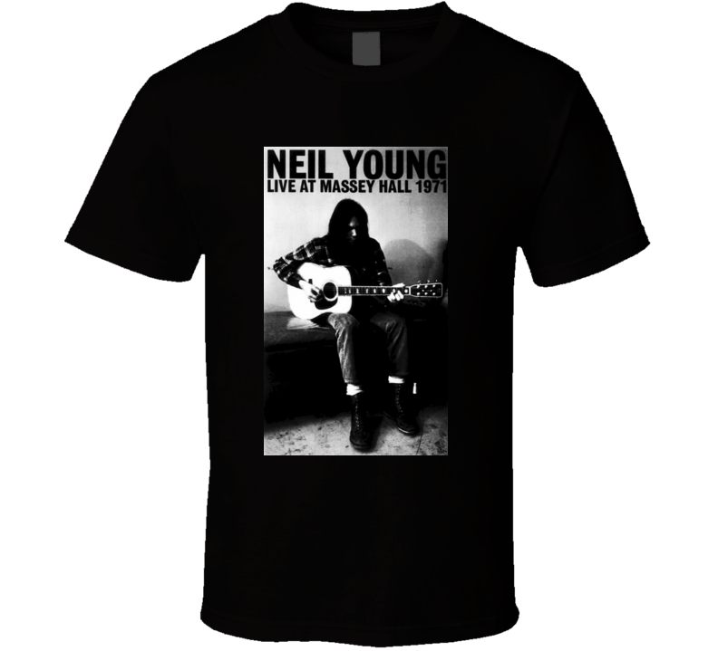 Neil Young Live Massey Hall Music T shirt