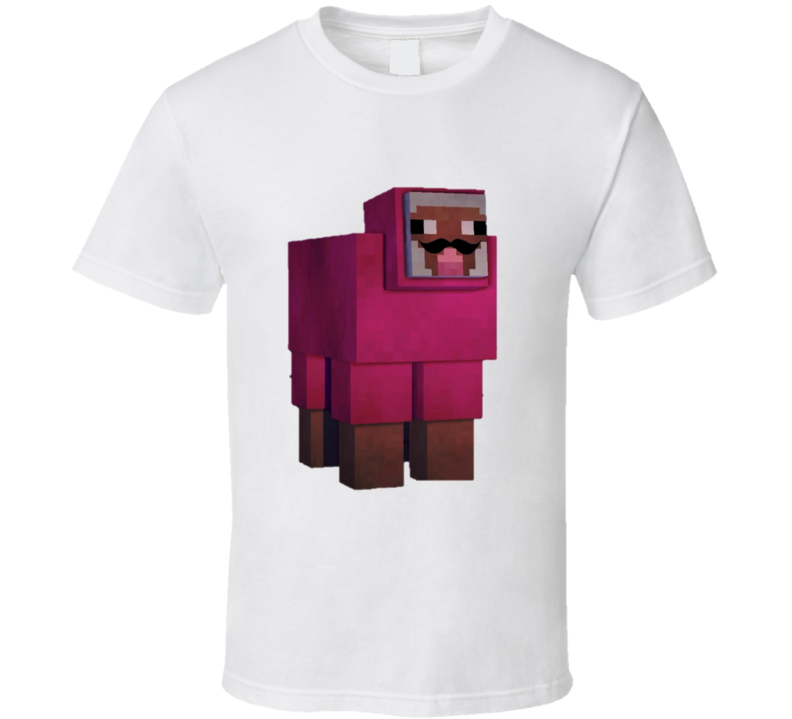 Purple Shep TNT Minecraft T shirt