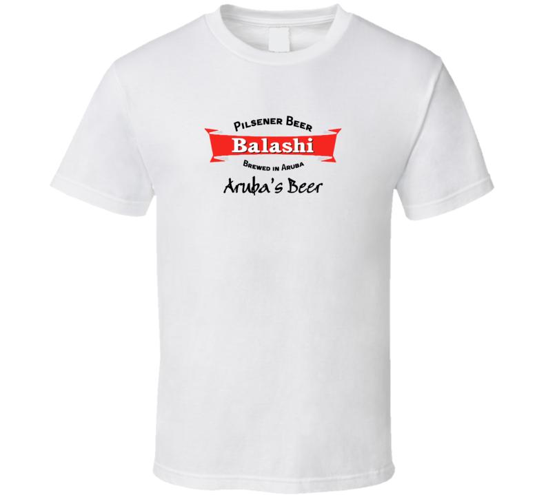 Sunshine s Aruba Balashi Beer Cool Aged Look T shirt