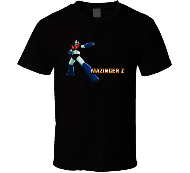 Tranzor Z Mazinger Z T shirt