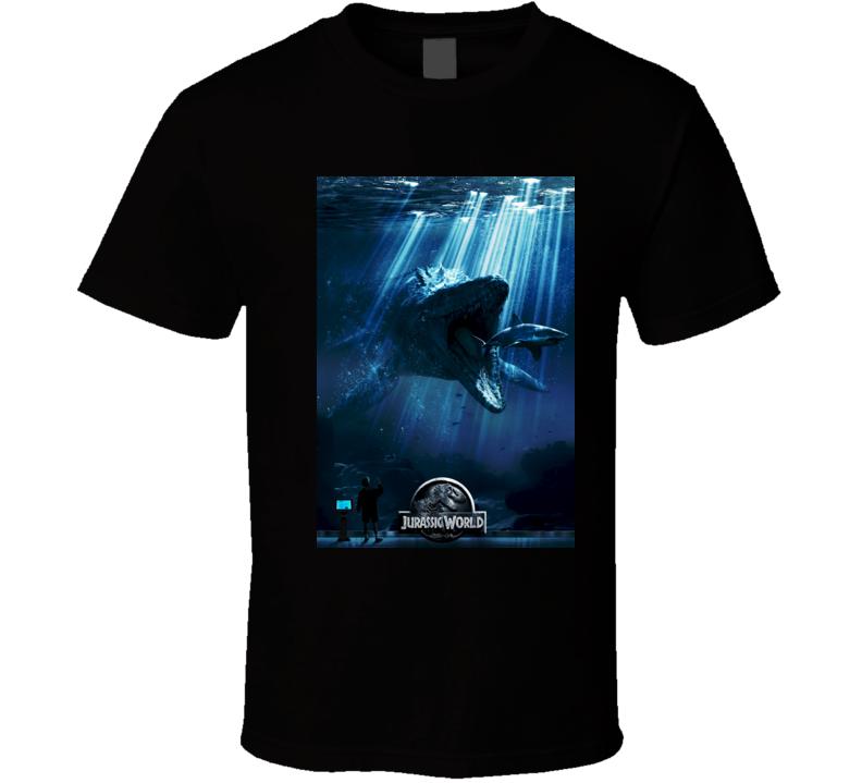 Dinosaur Jurassic World Poster T shirt