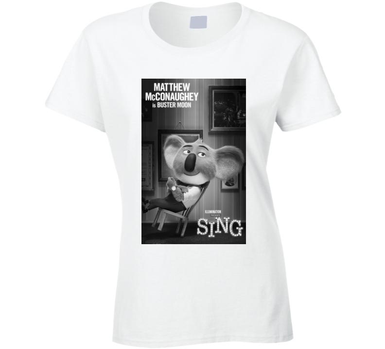 Sing movie illumination ladies t-shirt b