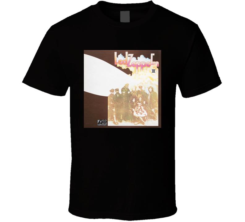 led zepellin 2 album t shirt