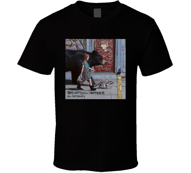 The Getaway Red Hot Chili Peppers Album t shirt