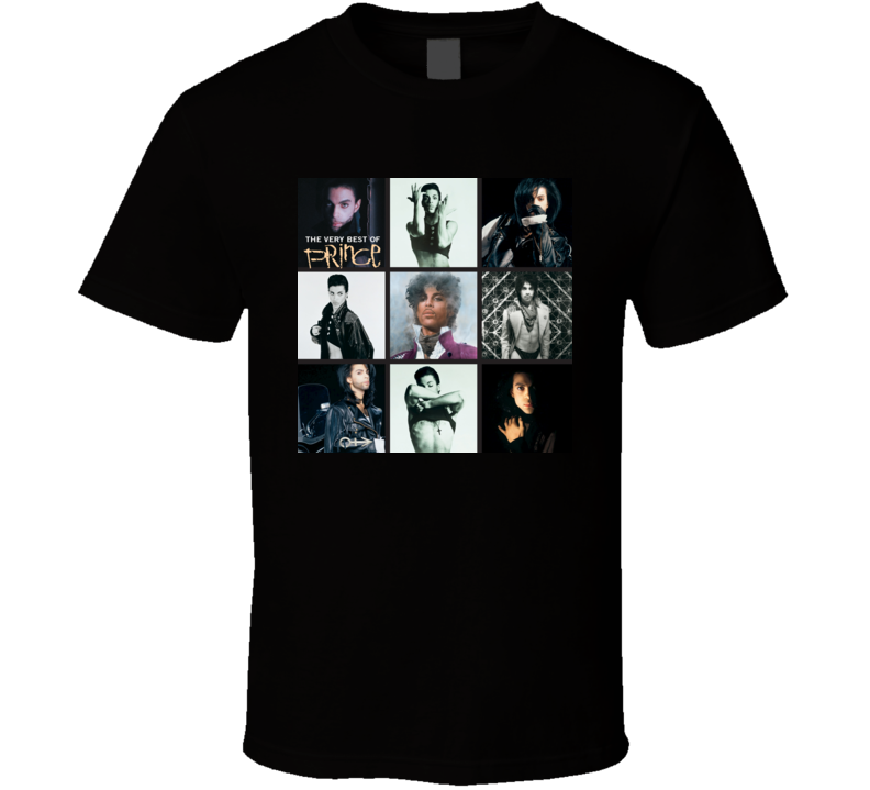 The Very Best Of Prince Prince Album T shirt