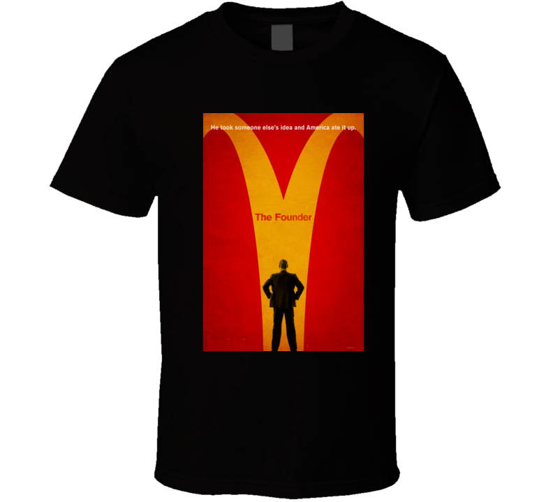 the founder movie t shirt