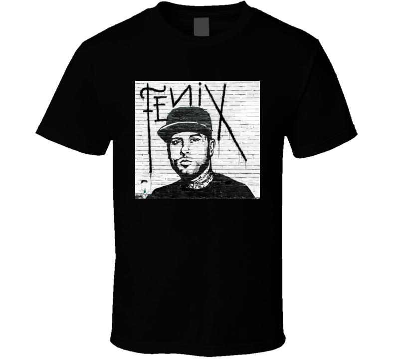 Nicky Jam Fenix album t shirt