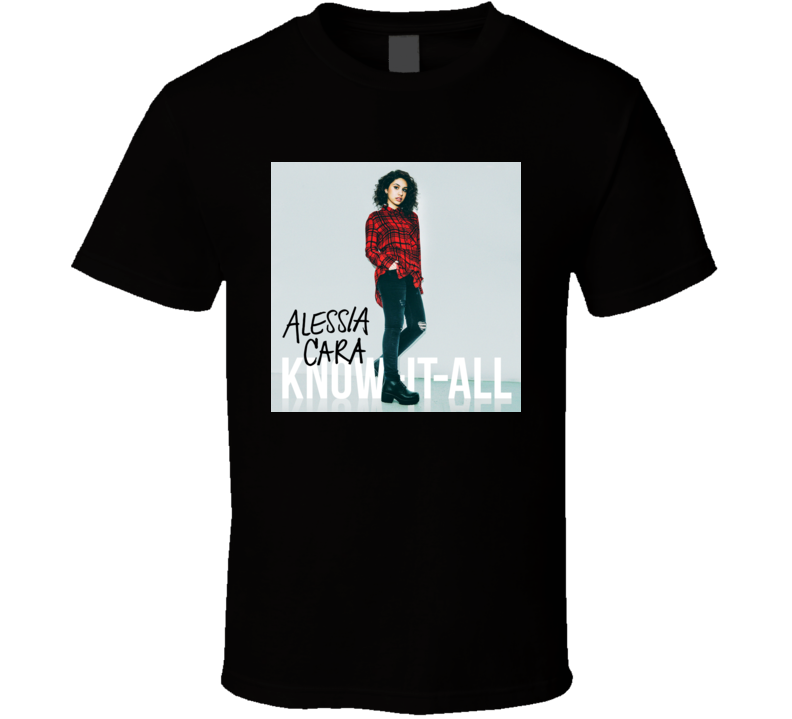 Alessia Cara Know-It-All Album T shirt