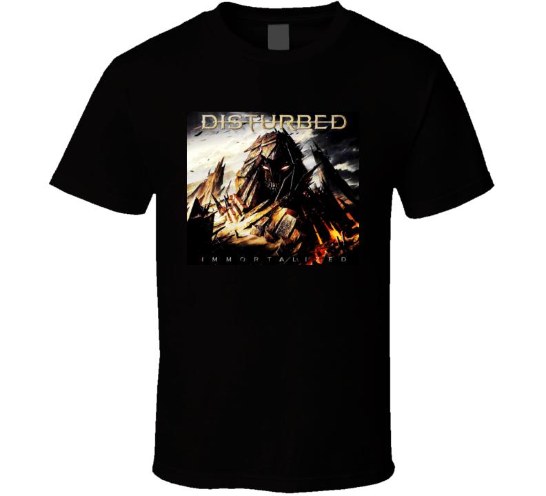 Immortalized Disturbed t shirt