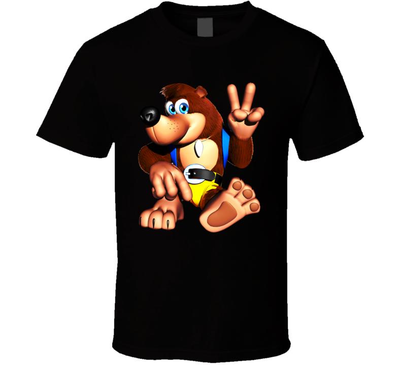 Banjo-Kazooie games t shirt