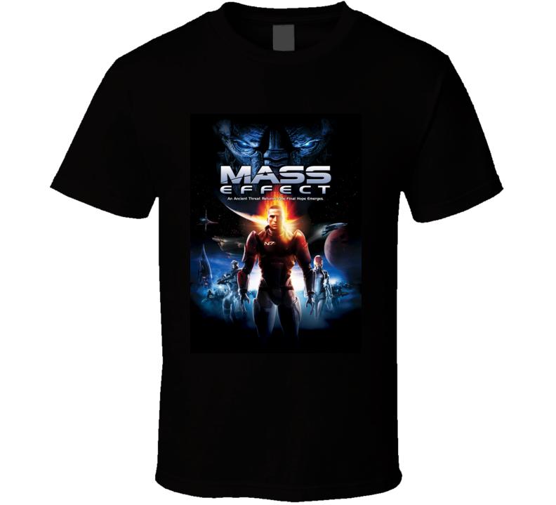 mass effect games t shirt