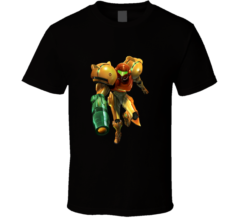 metroid prime games t shirt