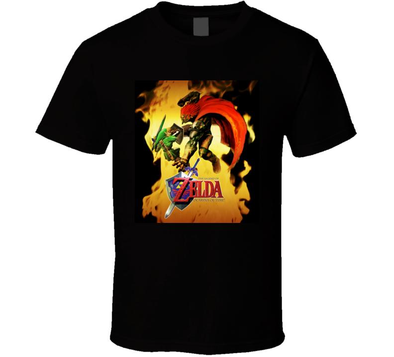 zelda ocarina of time games b t shirt