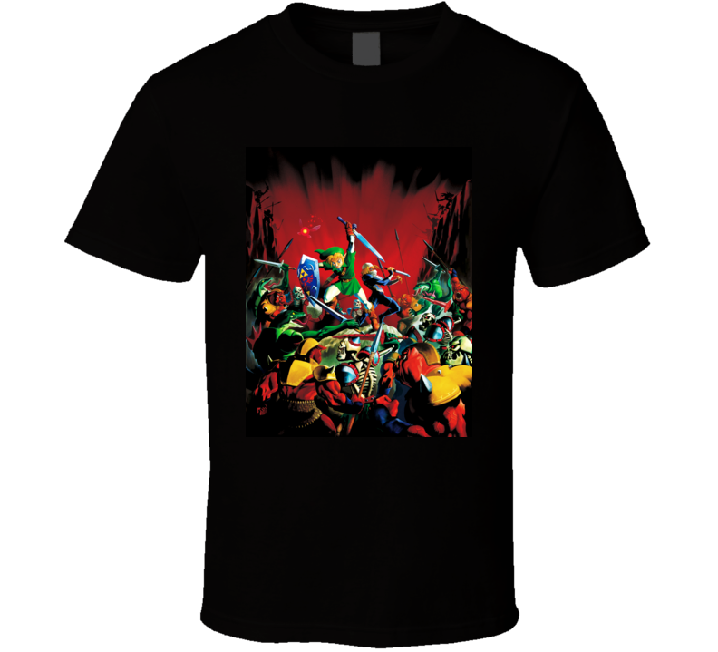 zelda legend ocarina of time games t shirt