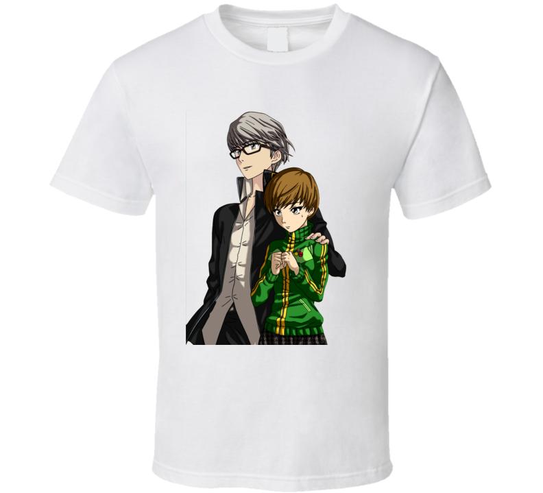 persona 4 games t shirt