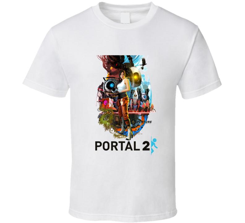 portal 2 games t shirt