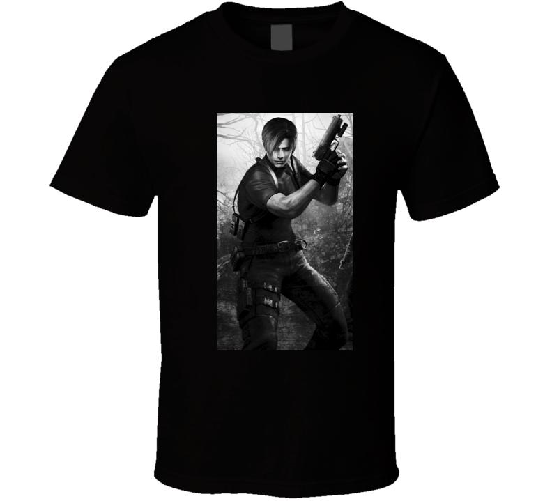 Resident Evil 4 games t shirt