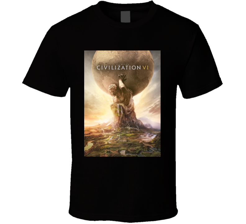 Sid Meiers Civilization Vi games t shirt