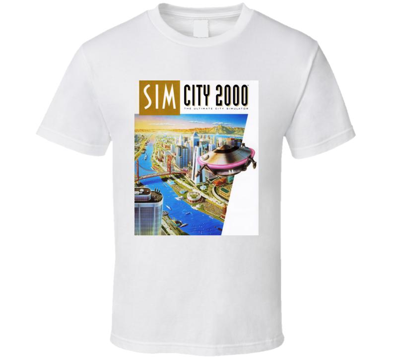 simcity 2000 games t shirt