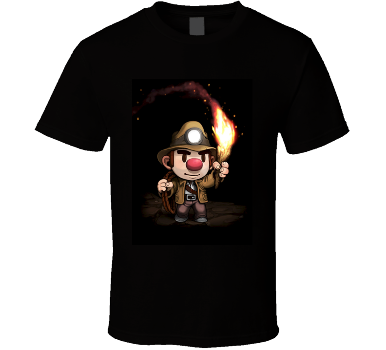 Spelunky games t shirt