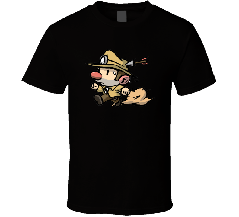 spelunky games classic t shirt