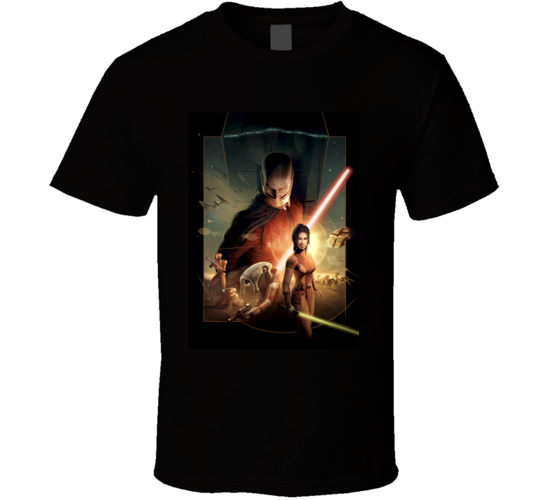 Star Wars Knights of the Old Republic games t shirt
