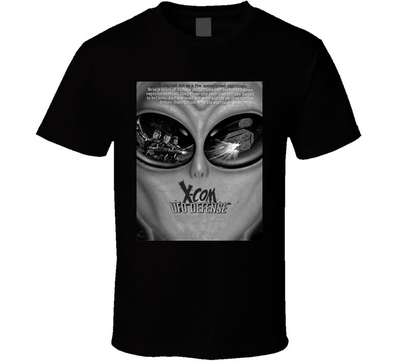 X Com Ufo Defense games t shirt