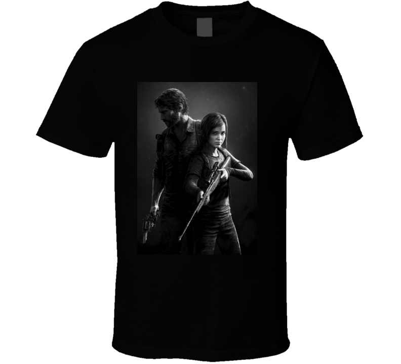 The Last of Us games t shirt