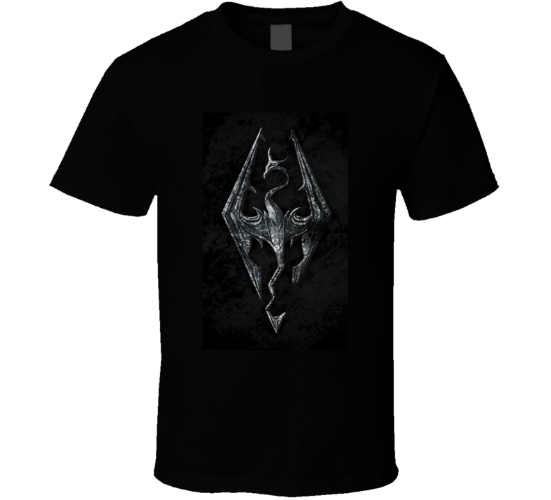 The Elder Scrolls V Skyrim games t shirt