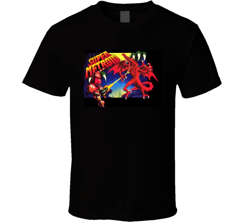 super metroid games t shirt