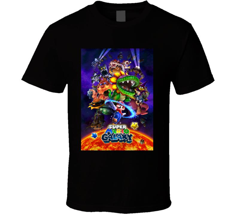 super mario galaxy 2 b games t shirt