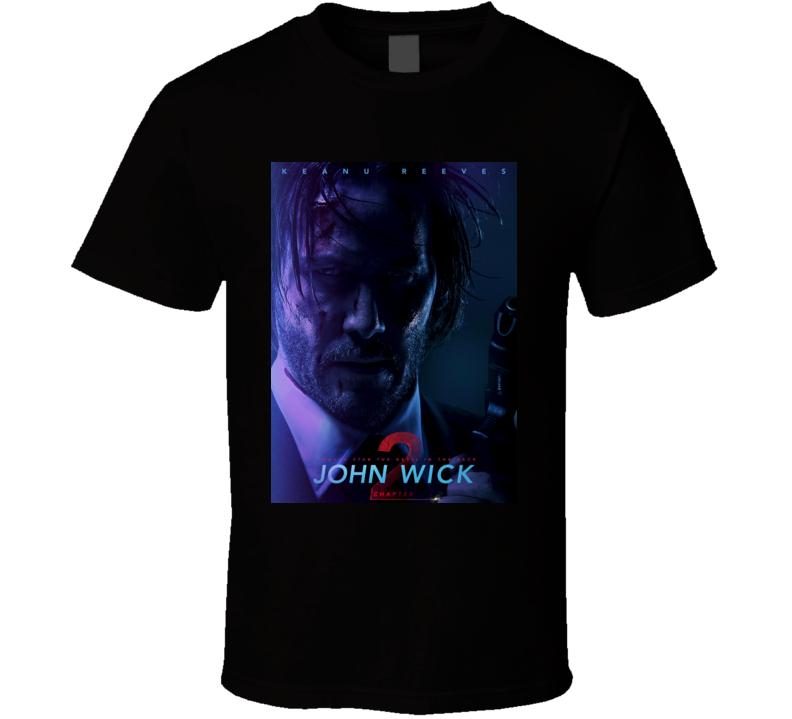 John Wick Chapter 2 movie t shirt b
